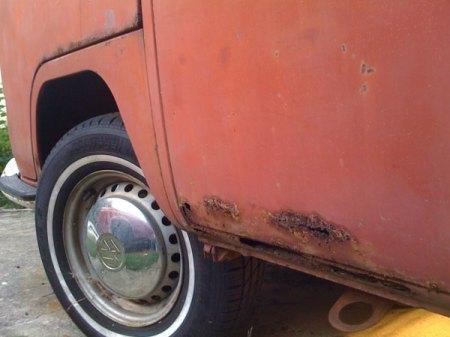 1971 VW Bus - Rust