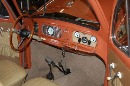 1956 Beetle Ragtop - Interior and Dash